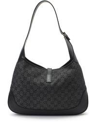 Gucci Charcoal Shoulder Bag - Lyst