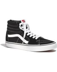 003a8479304 Madewell - Vans Reg  Classic Sk8-Hi High-Tops In Canvas - Lyst