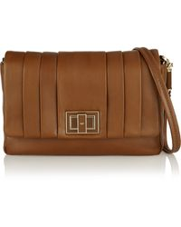 Anya Hindmarch Mini Gracie Pleated Leather Shoulder Bag - Lyst
