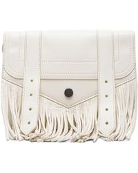 Proenza Schouler Large Ps1 Fringe Chain Wallet - Lyst