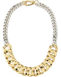 Marc By Marc Jacobs Katie Mixed Metal Chain Necklace - Lyst