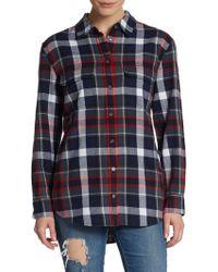 Equipment Signature Plaid Cotton Flannel Shirt - Lyst