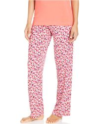 DKNY Petite in A Heartbeat Pajama Pants - Lyst