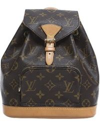 Louis Vuitton | Pre-owned Monogram Montsouris Pm Backpack | Lyst
