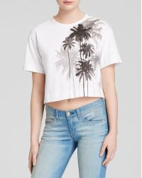 Rag & Bone/JEAN Tee - Suzanne Palm Placement - Lyst