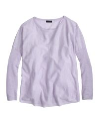 J.Crew Collection Featherweight Cashmere Swing Sweater - Lyst