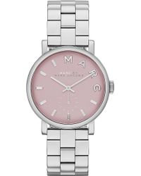 Marc By Marc Jacobs - Baker Mini Stainless Steel Watch 28cm Pink - Lyst