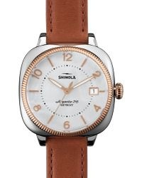 Shinola The Gomelsky Watch, 36Mm - Lyst