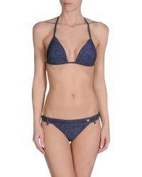 Dolce & Gabbana Bikini blue - Lyst