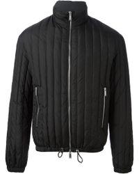 DSquared2 Black Padded Coat - Lyst