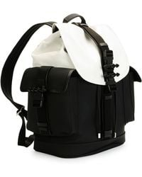 Givenchy Obsedia Leather Flap Backpack - Lyst
