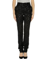 Gucci Black Casual Trouser - Lyst