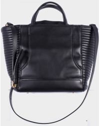Moschino Biker Black Hand Bag With Shoulder black - Lyst