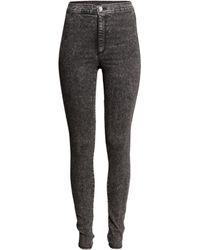 H&M Trousers High Waist - Lyst
