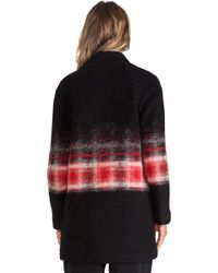 Thakoon Addition - Ribbed Collar Ombre Jacket - Lyst