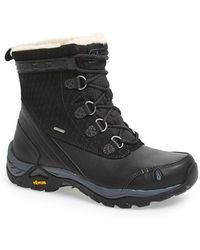 Ahnu 'twain Harte' Insulated Waterproof Boot - Black