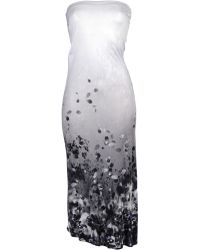 Aminaka Wilmont Knee-Length Dress gray - Lyst