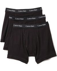 Calvin Klein 3 Pack Boxer Briefs - Lyst