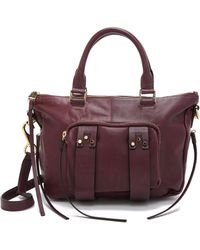 She + Lo - Next Chapter Mini Satchel - Bordeaux - Lyst