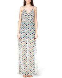 Pepe Jeans Printed Dress - Pl951458 - Lyst