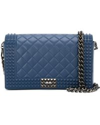 Designinverso Quilted Rubber Cross-Body Bag - Lyst