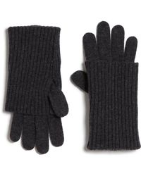 Rag & Bone Cece Wool Gloves - Lyst