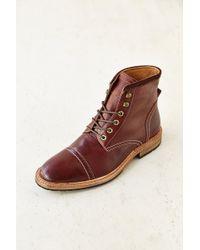 Florsheim Cap-Toe Boot brown - Lyst