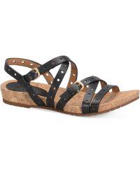 Söfft - Malana Flat Sandals - Lyst