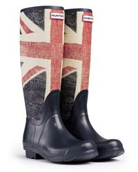 Hunter Original British Rain Boots - Lyst