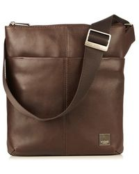 Knomo - 'kyoto' Leather Crossbody Bag - Lyst