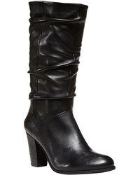 Steve Madden Lorreta Highheel Leather Boots - Lyst