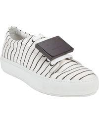 Acne Studios Adriana Stripe Sneakers - Lyst