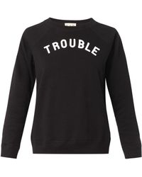 Sea Troubleprint Sweatshirt - Lyst