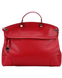 Furla Cabernet Leather 'Piper' Large Top Handle Tote - Lyst