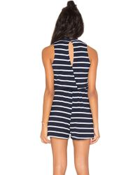 Wilde Heart - Sea Breeze Romper - Lyst