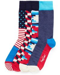 Happy Socks Gift 4-Pair Socks Set multicolor - Lyst