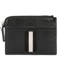 Bally Leather Coin Pocket  Credit Card Holder - Lyst