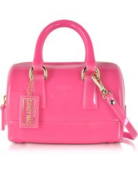 Furla | Candy Jelly Rubber Mini Satchel | Lyst