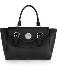 Hill & Friends - Happy Satchel Textured-leather Tote - Lyst