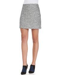 Tory Burch Lucille Silkblend Skirt - Lyst