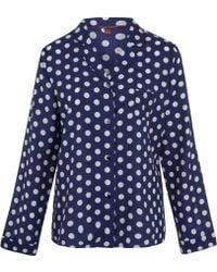 Princesse Tam-Tam - Blue Rose Polka Dot Pyjama Top - Lyst
