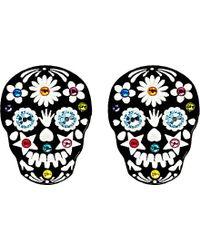 Tatty Devine - Sugar Skull Ring - For Women - Lyst