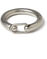 Cheap Monday | Clasp Ring - Silver | Lyst