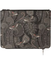 Givenchy Double Zip Printed Pouch - Lyst