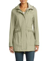 Cole Haan Hooded Jacket - Lyst