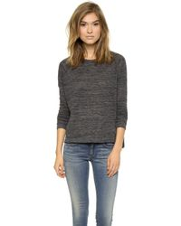 Rag & Bone Camden Long Sleeve Tee - Lyst