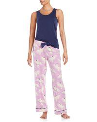 Munki Munki - Two-piece Pajama Set - Lyst