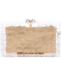 Charlotte Olympia Pandora On The Rocks Box Clutch Bag - For Women - Lyst