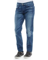 Hudson Blake Soto Slim-Straight Leg Denim Jeans - Lyst