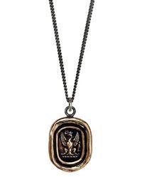 Pyrrha - 'follow Your Dreams' Talisman Pendant Necklace - Bronze - Lyst
